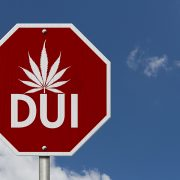 Stop Driving Under the Influence- Road Sign