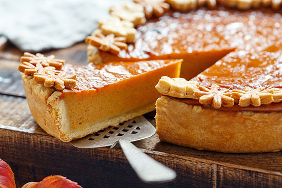 3 pumpkin pie