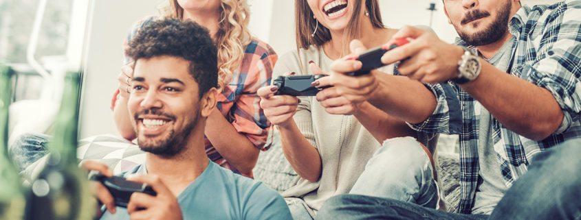 video games when high