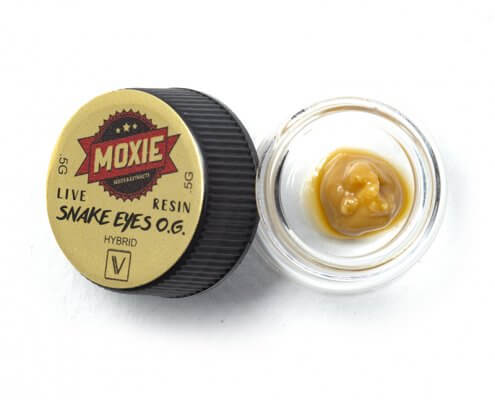 Moxie Snake Eyes OG Live Resin Badder