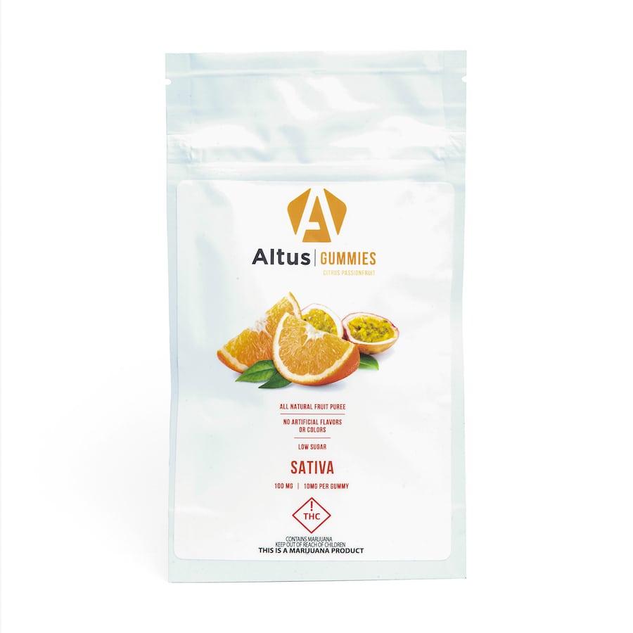 Altus Citrus Passion Fruit Gummies