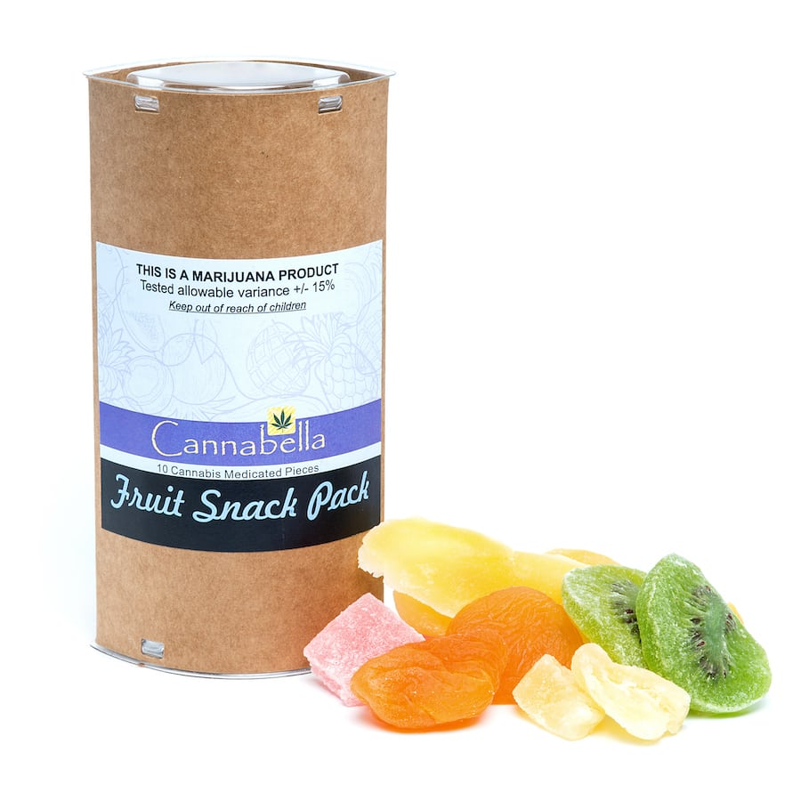Cannabella Fruit Snack Pack