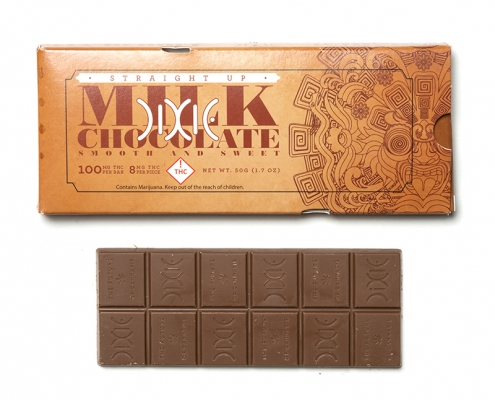 Dixie Straight Up Milk Chocolate Bar