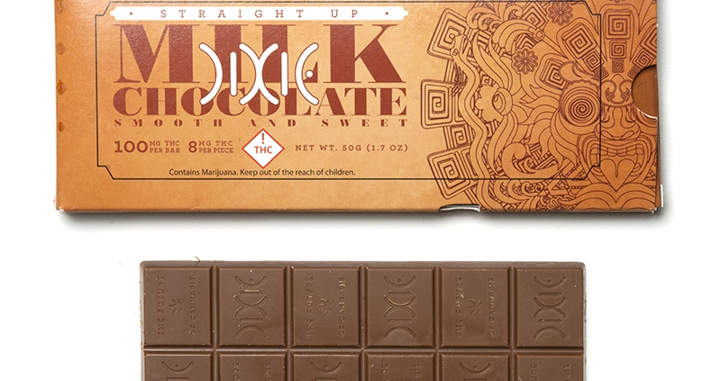 Dixie - Straight Up Milk Chocolate Bar