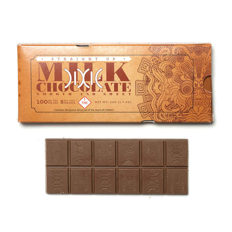 Dixie - Straight Up Milk Chocolate Bar