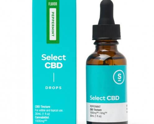 Select Peppermint CBD Drops