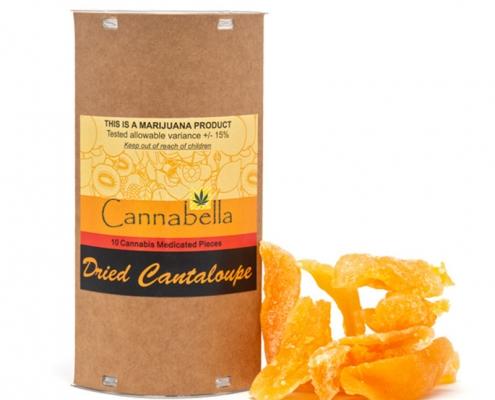 Cannabella THC Dried Cantaloupe