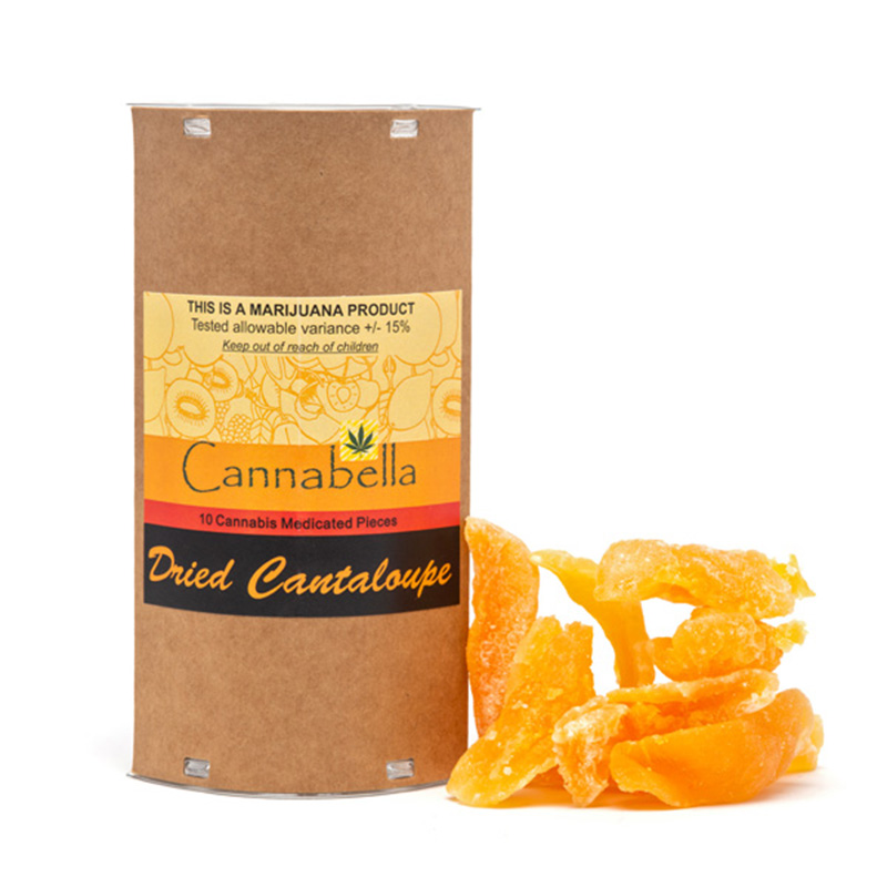 Cannabella THC Dried Cantaloupe