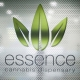 essence cannabis dispensay window sign