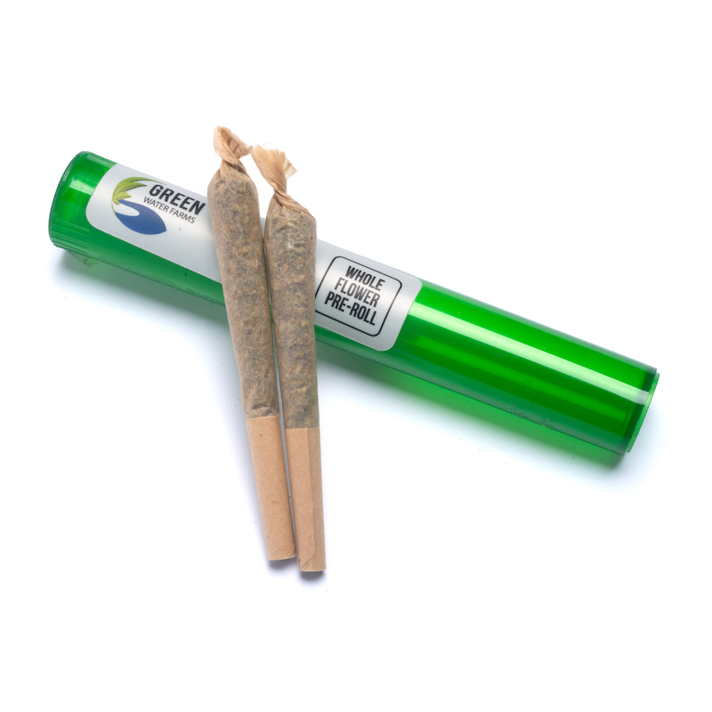 Green Water Farms Preroll 2