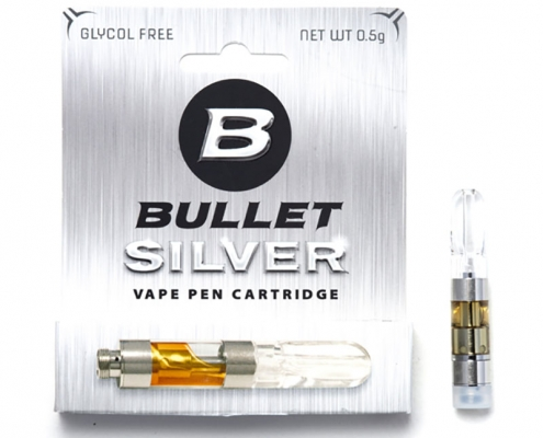 Bullet Silver Vape Cartridge