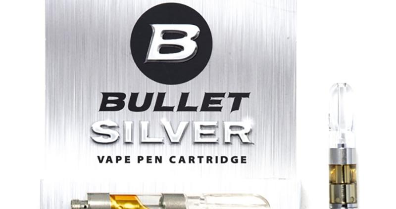 Bullet Silver Vape Cartridge
