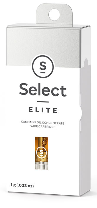 Select Elite Vape Cartridge