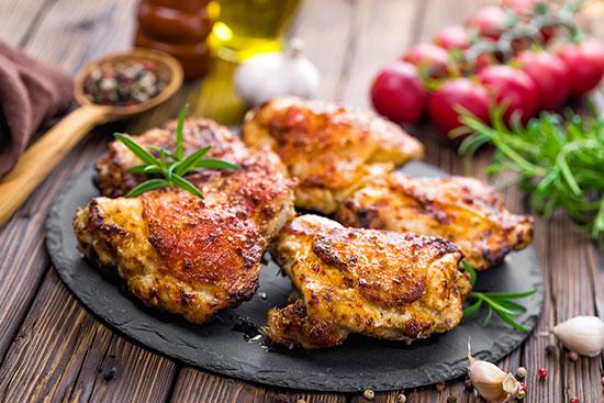 bbq chicken thigs