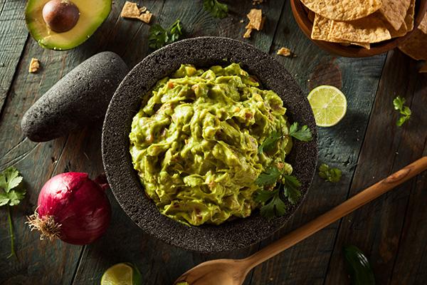 5 guacamole