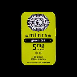 Encore Mints GreenTea Packaging B