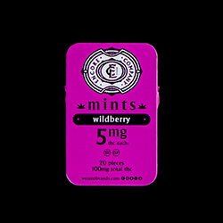 Encore Mints Wildberry Packaging B