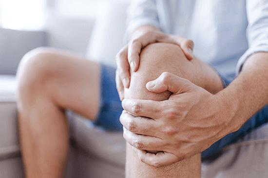 THCA Benefits Inflammation In Knee