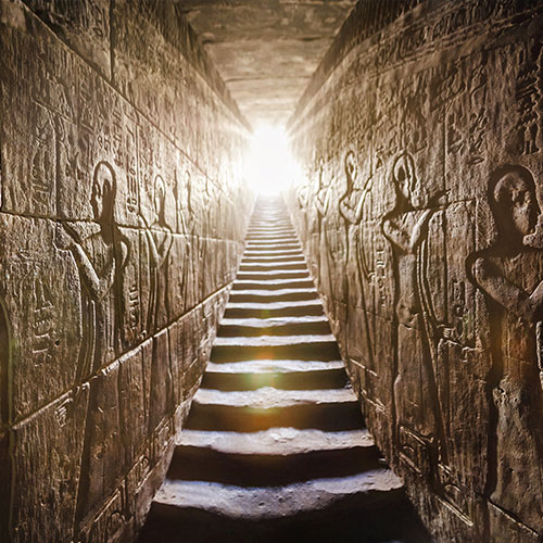 Ancient Egypt Stairway